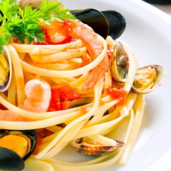 Мидии в сливочно-чесночном соусе рецепт