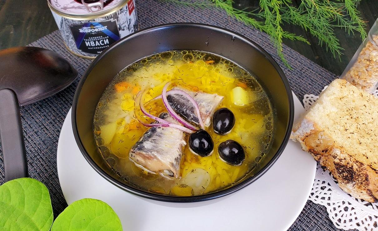 Рисовый суп с иваси