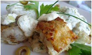 Сочная рыбка в духовке