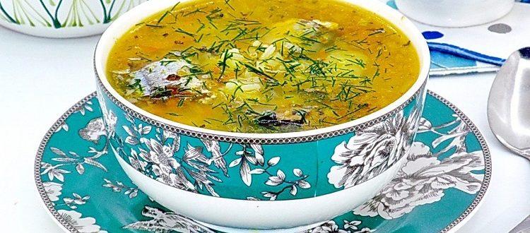 Суп из иваси консервы