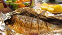 Фото к рецепту: Рыба дорадо, запечённая в духовке