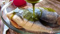 Фото приготовления рецепта: Рыба дорадо, запечённая в духовке - шаг №4