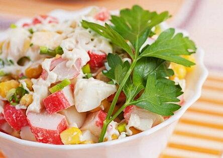 Секреты приготовления салатов
