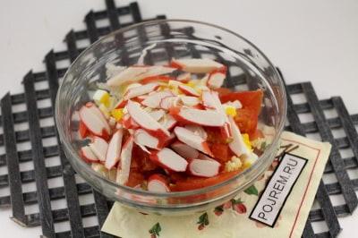 Салат с пекинской капустой и крабовыми палочками – рецепты приготовления