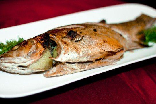 Сибас на гриле рецепт