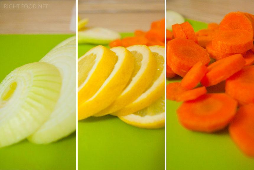 Запеченный Сибас в духовке с овощами. Пошаговый рецепт с фото
