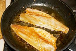 жареное филе сибаса пошагово фото