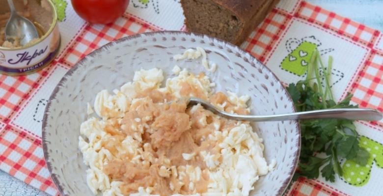 Бутерброды с икрой на праздничный стол — 7 простых рецептов этап 21