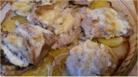 Хек с картошкой в духовке рецепты с фото пошагово
