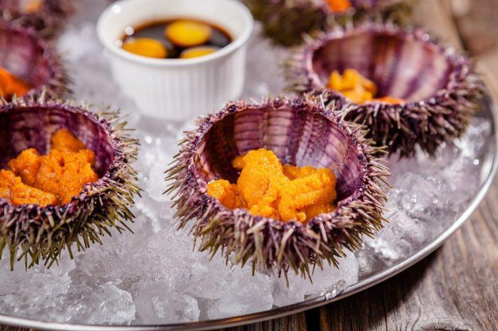 Использовать в пищу морских ежей