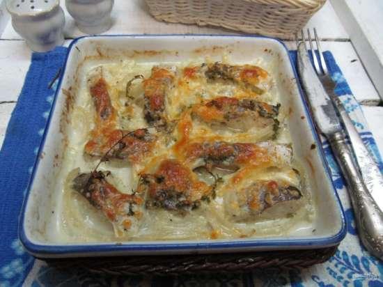 Pitanie4Zdravie.ru - Хек в духовке с картошкой - вкусные рецепты на нашем сайте