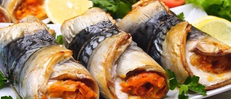 Рыбные закуски на праздничный стол