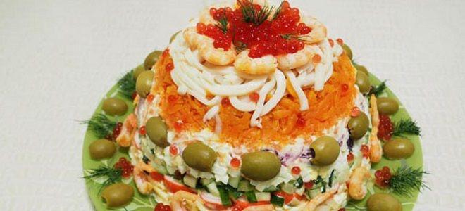 салат царский классический рецепт