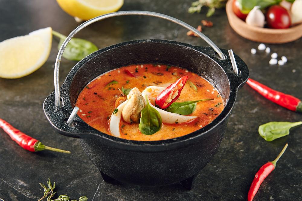 Суп из хека с апельсиновым соком рецепт