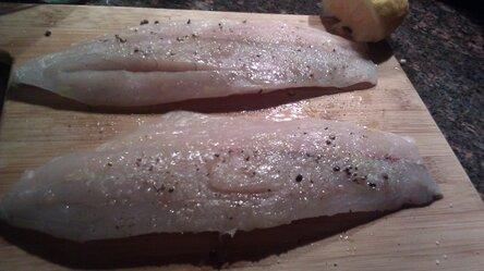 Приготовление филе рыбы 2