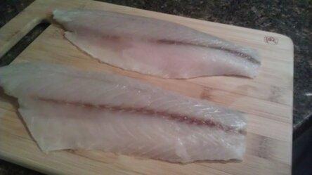 подготавливаем рыбное филе 1