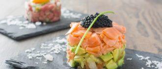 Тартар из лосося рецепты