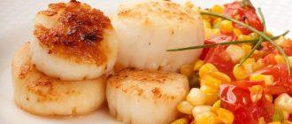 Гребешки морские – рецепты приготовления на сковороде
