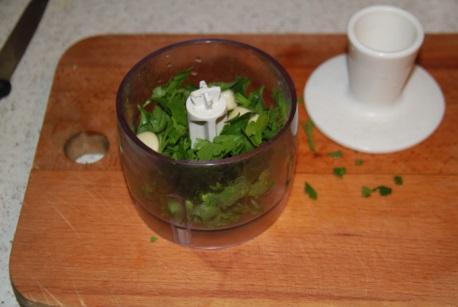 Способ приготовления соуса к морским гребешкам на оливковом масл