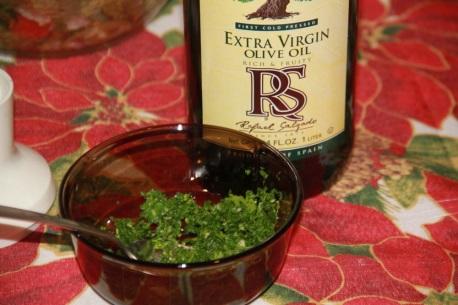 Способ приготовления соуса к морским гребешкам на оливковом масл 2