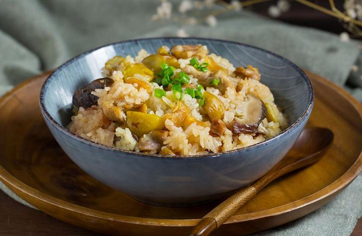 Рис с морскими гребешками