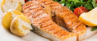 Стейк из лосося на сковороде рецепты