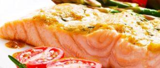 Вкусный стейк лосося в духовке – рецепты