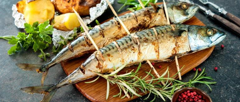 Шашлык из рыбы на мангале какую выбрать