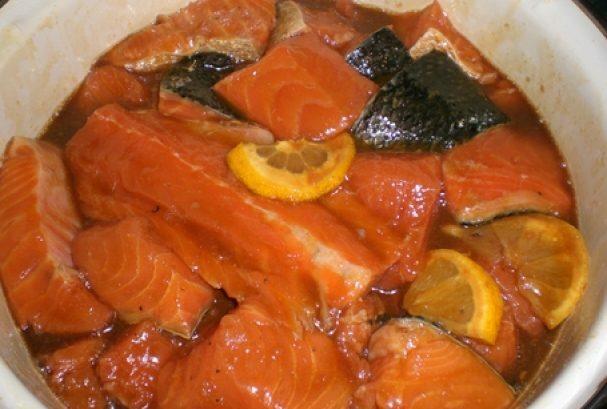 Шашлык из рыбы на мангале. Какую рыбу выбрать и как приготовить шашлык из рыбы этап 5