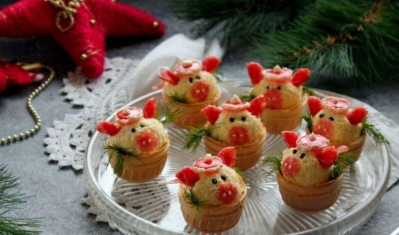 Закуски в тарталетках — 10 простых и вкусных рецептов на праздничный стол этап 2